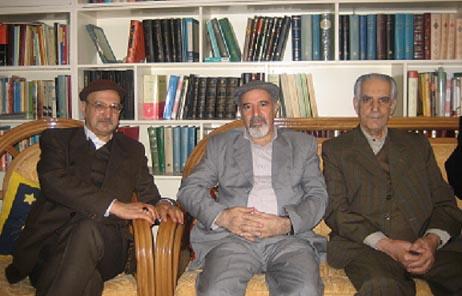 ازچپ: حسن لاهوتی/ رضا افضلی/ محمد قهرمان
